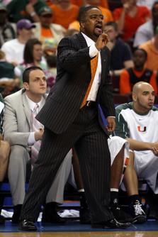 UM coach Frank Haith