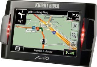 Knight Rider GPS Mio