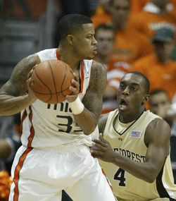 Jack McClinton had 31 points against Wake Forest in UM's most impressive win of the season.