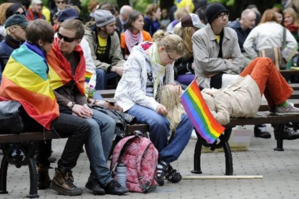 Latvia Gay Rights MOSB147