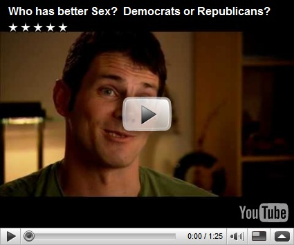 Video | Who has better Sex? Democrats or Republicans? On YouTube: