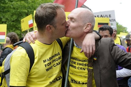 Latvia Gay Rights MOSB144