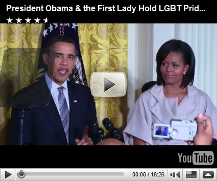 Complete video | The Obamas host LGBT Pride Month reception at East Room: ...