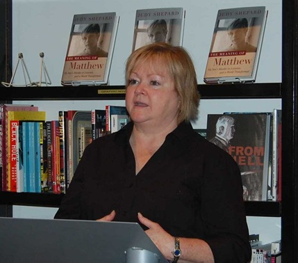 Judy Shepard at Books & Books 004