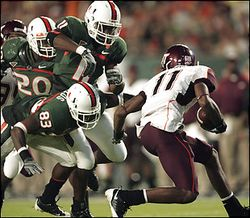 The Canes need to swallow up return man Dyrell Roberts the way they did last year