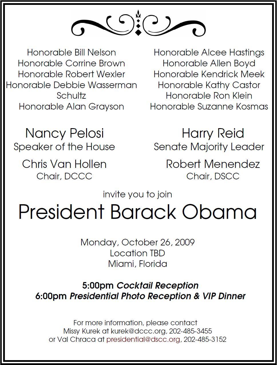 Dine with obama in miami for 100k naked politics miamihsvf xflitez Images