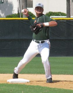 Second baseman Scott Lawson, a senior, is among the few veteran starters returning for UM