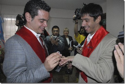 Argentina Gay Marriage BAI1