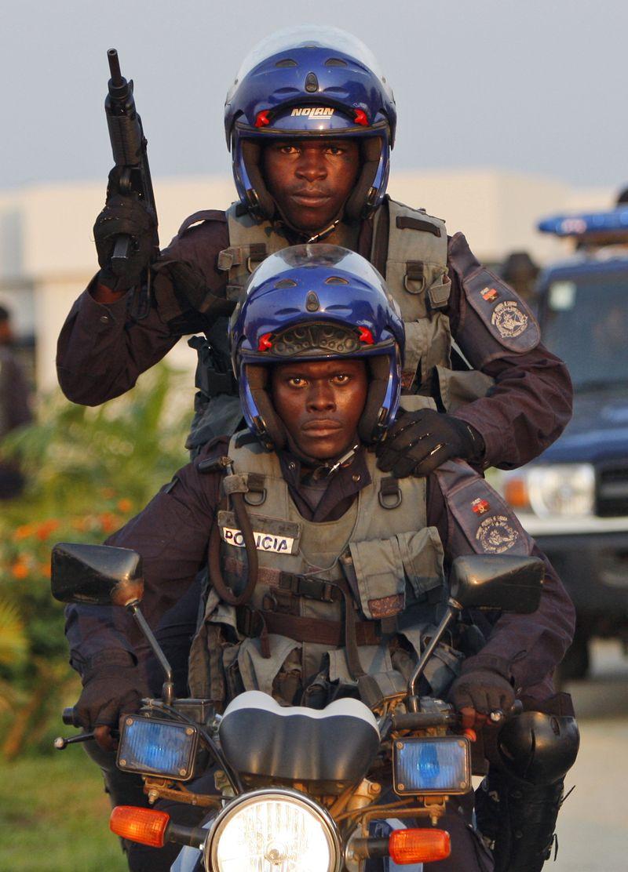 Angola Soccer Shooting XDB1