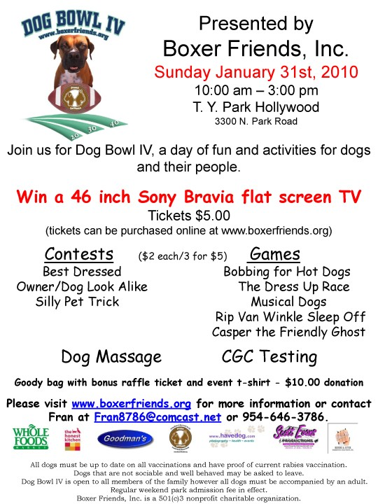 Dog Bowl IV Flyer