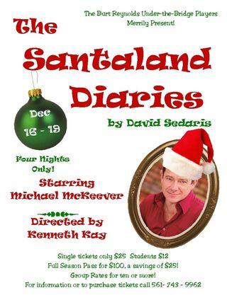Santaland poster