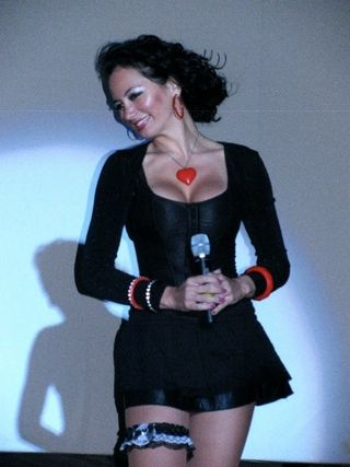 Montserrat Franco as Betty Boop at South Beach Sleeples Night event (SoBe  Arts)