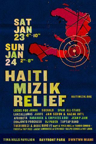 Haiti mizik poster