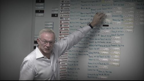 Jerry Jones whiteboard