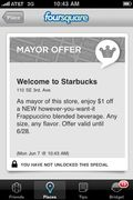 Starbucks foursquare