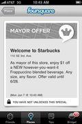 Starbucks foursquare