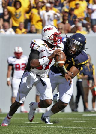 Maryland West Virginia Football