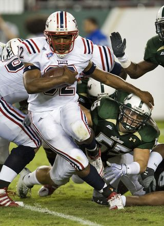 Florida Atlantic South Florida Football