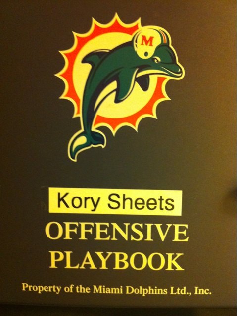 Dolphins offensive playbook
