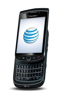 BlackBerry Torch left tilt