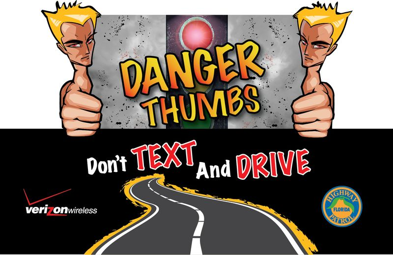 Danger Thumbs postcard_4x6_front