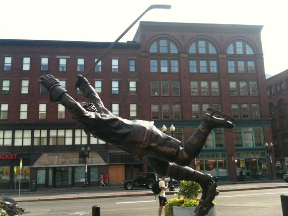 A Billy Lindsay Statue in Boston?