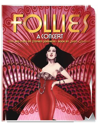 FOLLIES POSTER PLAIN