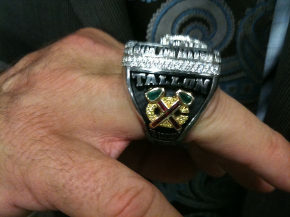 Dale Tallon Gets His Ring