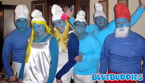 Smurf_Costume_Party