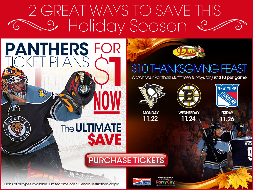 2ba305fa61c The Panthers have had some incredible ticket offers over the years