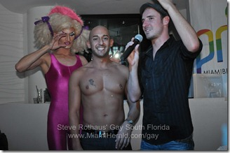 Miami Beach Gay Pride bachelor auction at MOVA 067