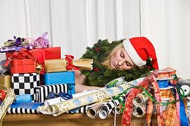 Overwhelmed holidays