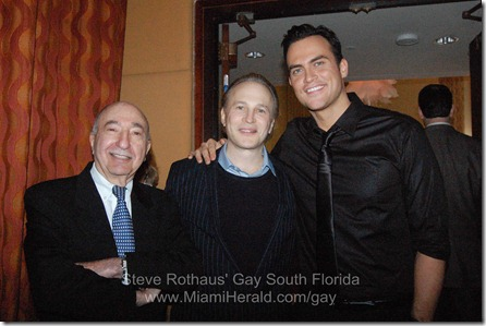 Cheyenne Jackson news conference 063