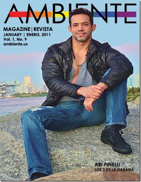 January 2011 Ambiente gay magazine online now. From Herb Sosa:
