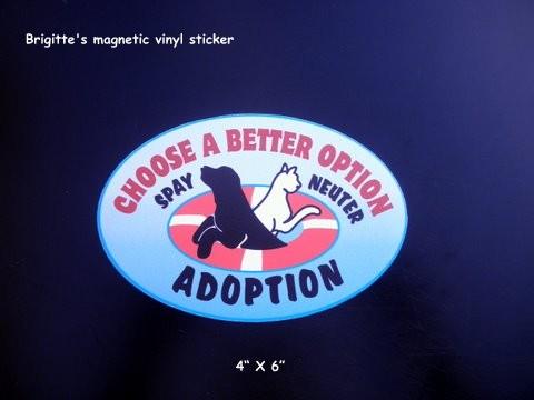 Brigitte's Bumper Sticker 025