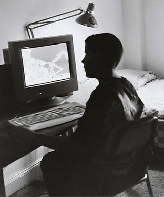 Computer-teen