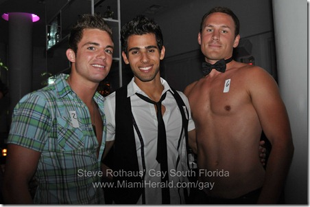 Miami Beach Gay Pride bachelor auction at MOVA 010