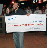 SPIRIT Million Mile Winner