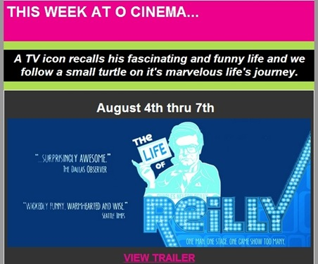 The Life of Reilly, a documentary about gay comic actor/director Charles ...