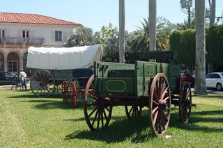Conestoga wagon small