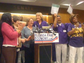Health and ed worker presser 2.2.12