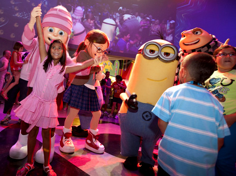 Minion Dance Party