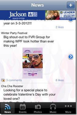 winter party app