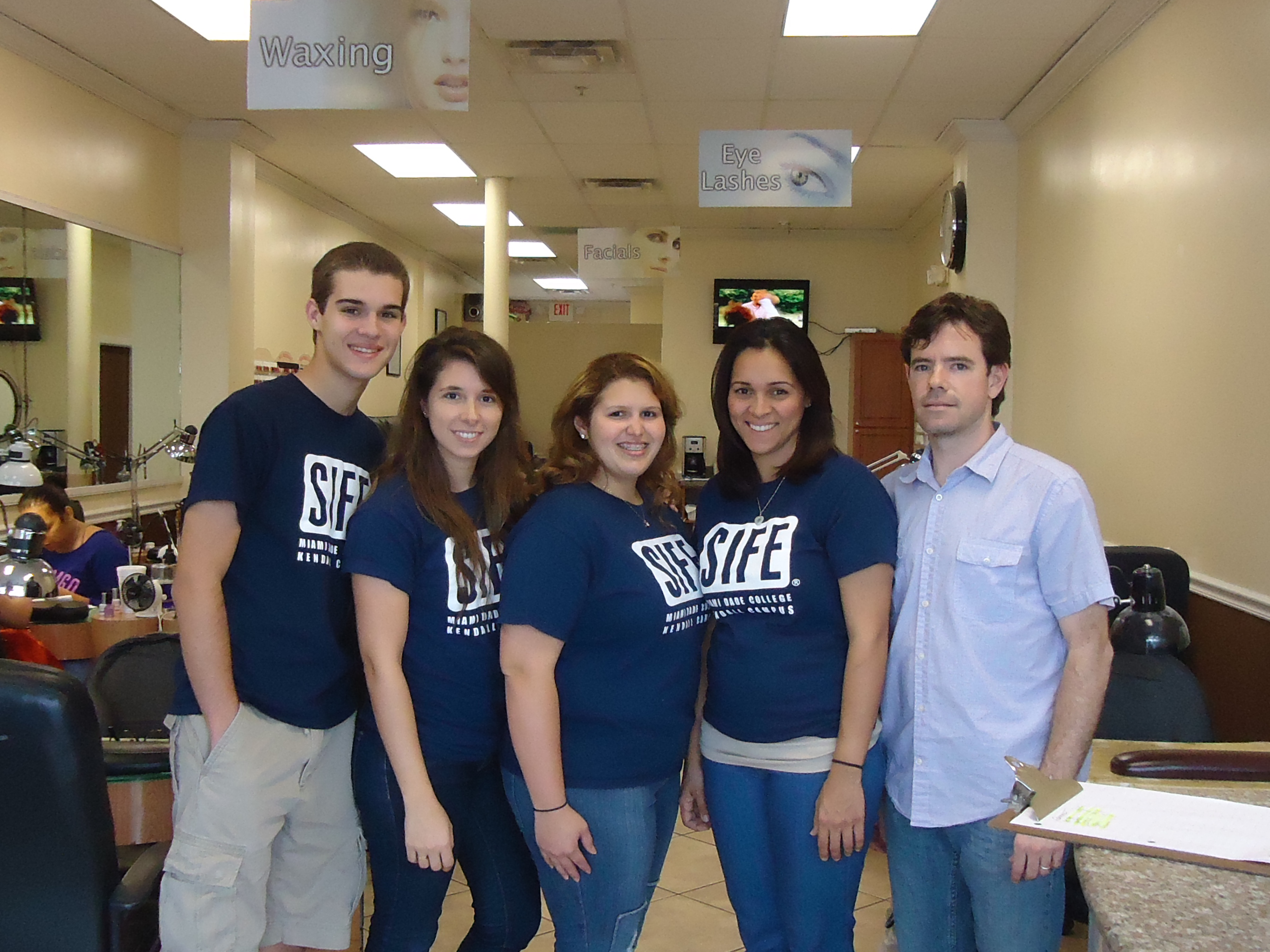 Student non-profit at Miami Dade College helps a small