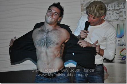 Miami Beach Gay Pride bachelor auction 080