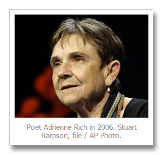 ... a generation of feminist, gay rights and anti-war activists, has died.