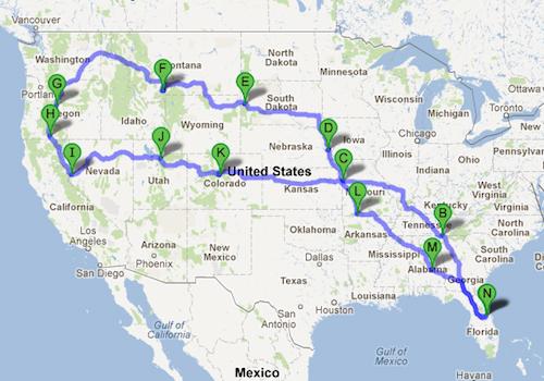 Oregon-TrailMap