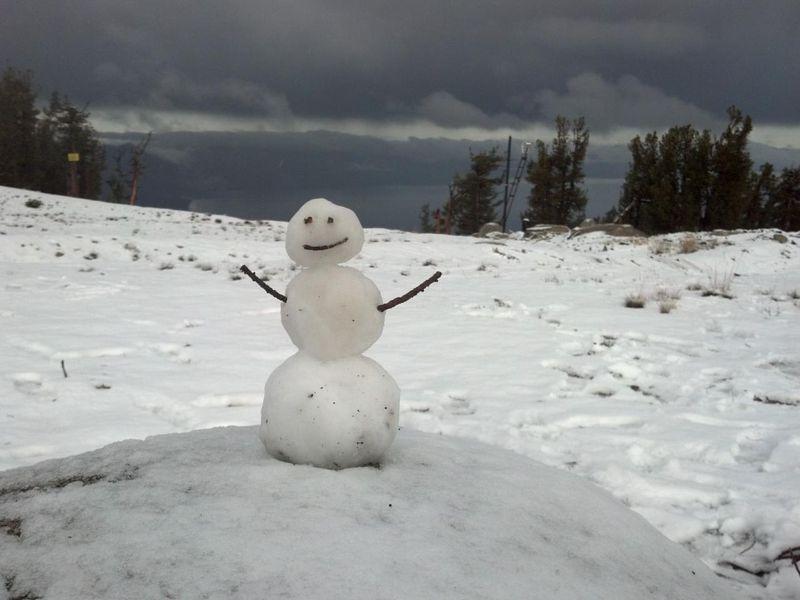 Heavenly First Snowman 10.12.12