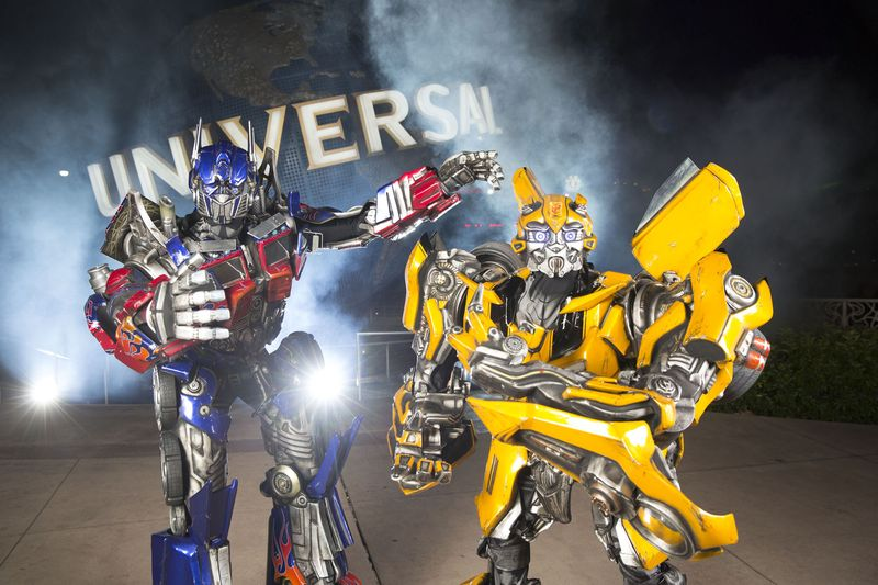 Optimus Prime and Bumblebee -- small
