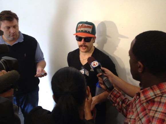 VERSTEEG'S NEW STACHE